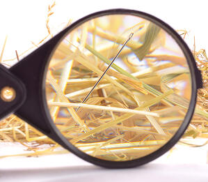 Visual scheduling helps finding the needle in the haystack