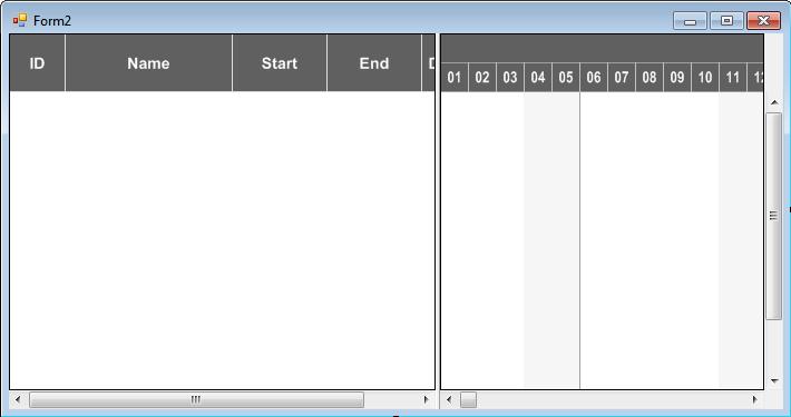 VARCHART XGantt入门教程:如何数据加载