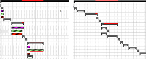 Gantt Chart Best Practice - Visual Alerts - Screenshot 3