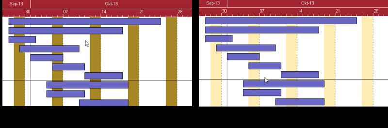 Gantt Chart Best Practice Calendar Grid