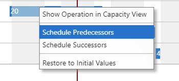 VPS-schedule-predecessors-successors