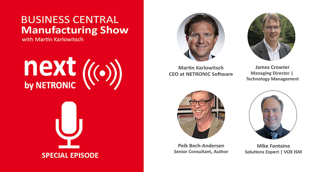 Business Central Manufacturing Show - episode 17