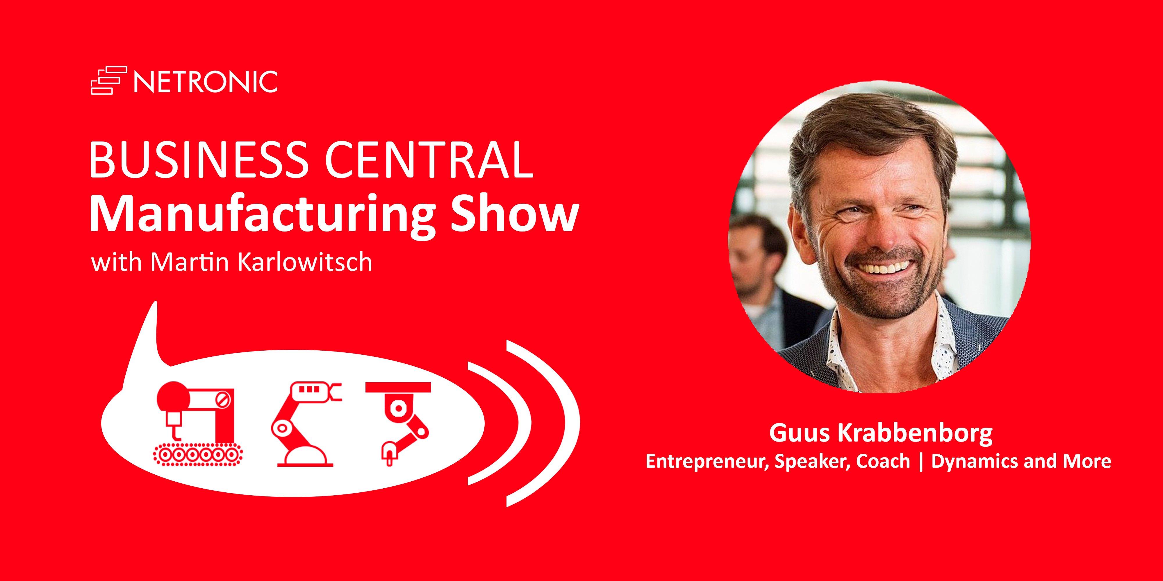 Business Central Manufacturing Show Guus Krabbenborg