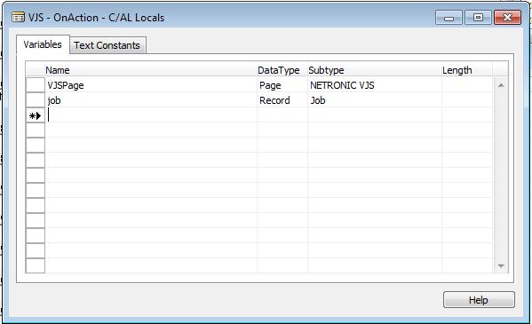 Visual Jobs Scheduler - Set Job Filters III