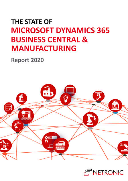 State of Business Central and Manufacturing - Report 2020 - Cover