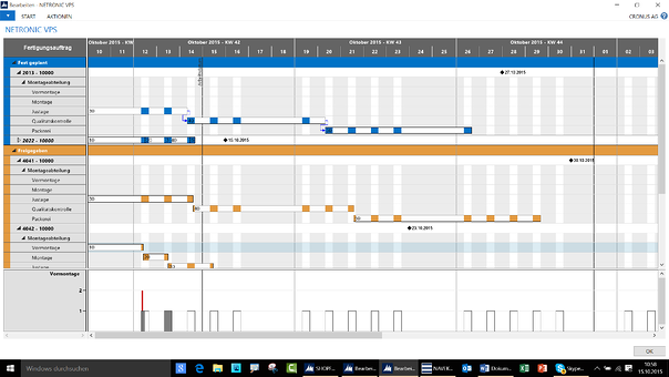 Visual Production Scheduling for Microsoft Dynamics NAV