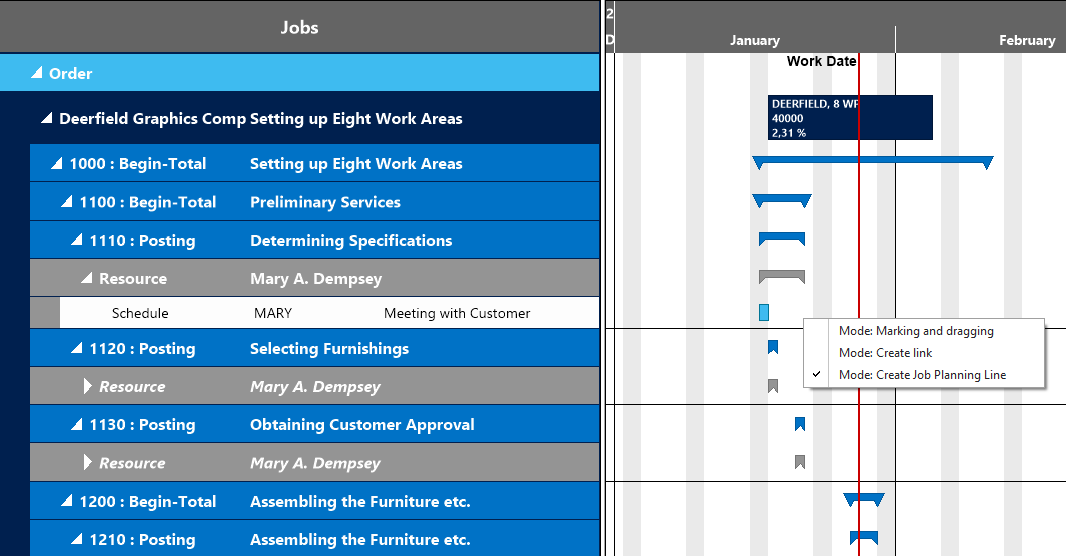 Visual Jobs Scheduler for Dynamics NAV vs 1.3 create job planning lines