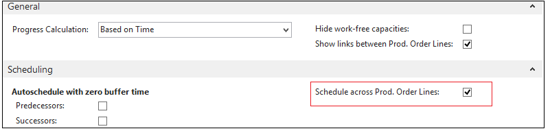"""Visual Production Scheduler for NAV Schedule automatically PO items """"make to order"""""""