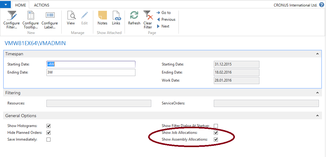 Visual Service Scheduler Feature Visualize Resource Conflicts