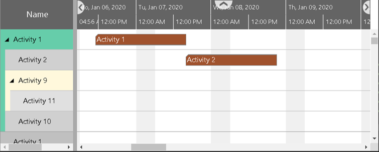 Visual Scheduling Add-in Developer Toolbox with new Activities View