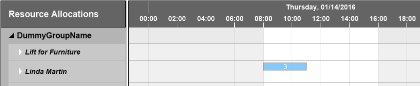 Working hours in Visual Service Scheduler