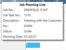 工作计划行工具提示