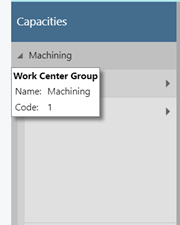 work center group - tooltip
